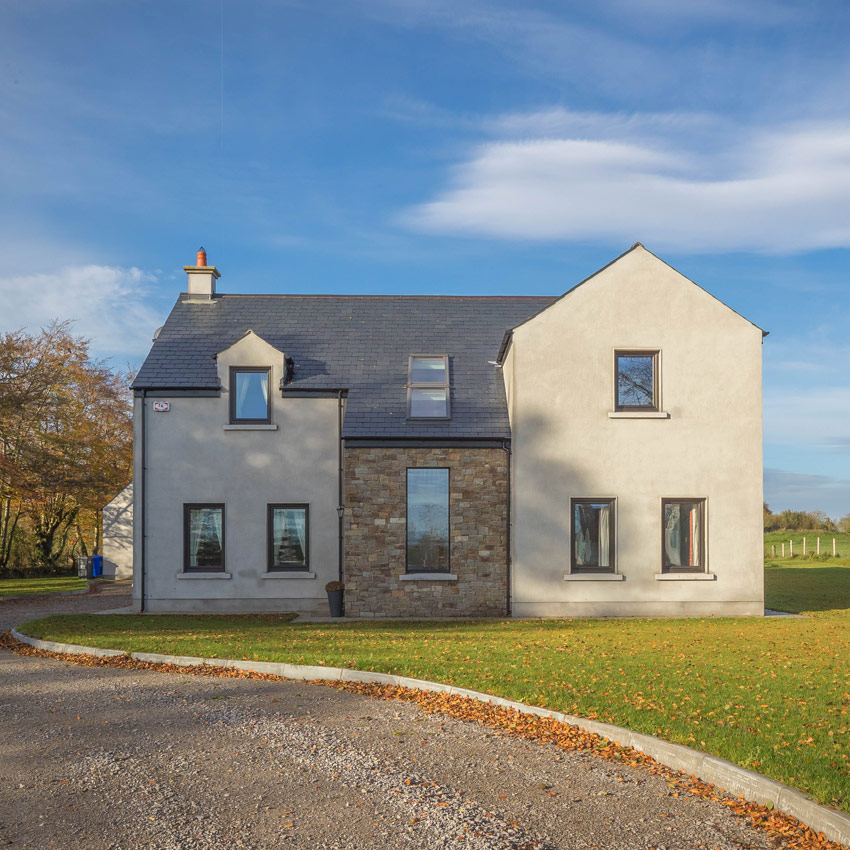 Contemporary Modern House Design by mckenna + associates Trim Co Meath. mckenna + associates Architects & Building Surveyors Trim Meath. Planning Application Meath, Assigned Certifiers, Design Certifiers, Construction Management, michael mckenna, architects trim, Architects Meath.