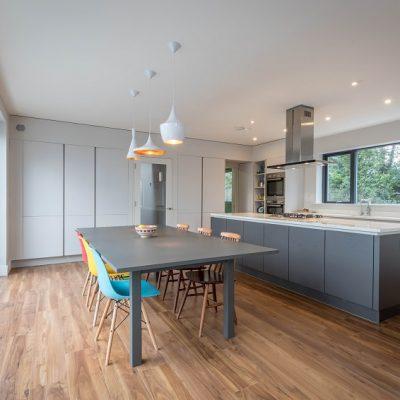 Bespoke modern Irish Home - open plan kitchen - designed by mckenna + associates Architects & Building Surveyors Trim Co Meath. Architects Meath. Architects Trim. Registered Architects Meath.