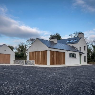 Modern bespoke Irish Home External image - designed by mckenna + associates Architects & Building Surveyors Trim Co Meath. Architects Meath. Architects Trim. Registered Architects Meath.